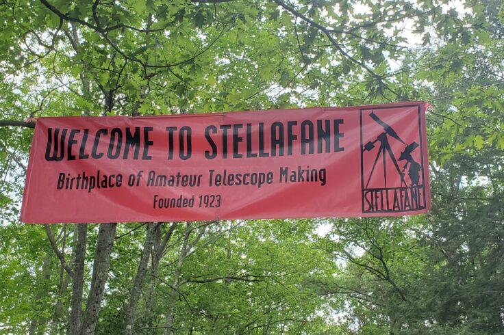 Stellafane banner