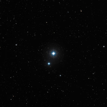 One of August's featured double stars, 20 Draconis
