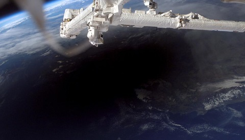 Umbra from the ISS