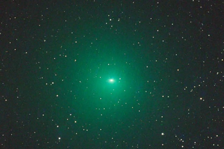 Telescopic view of Comet 252P/LINEAR