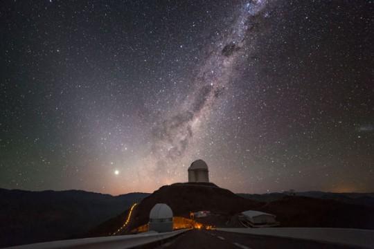 La Silla's 3.6-meter telescope