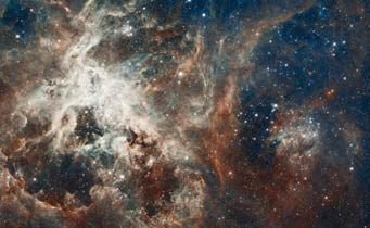 Tarantula Nebula from Hubble and others