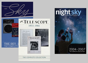 The Sky, The Telescope, and Night Sky DVD collections