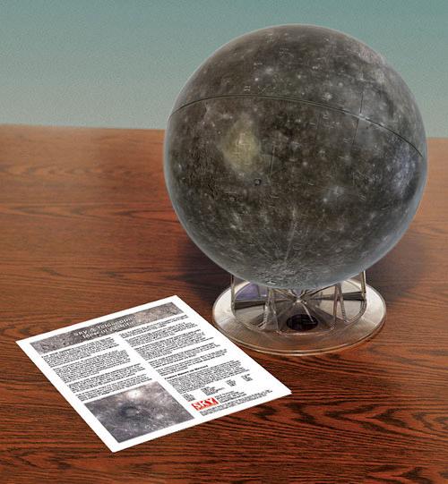 Sky & Telescope's Mercury globe