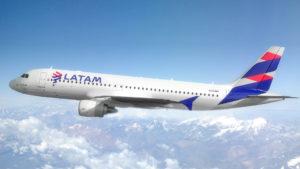 Latam A320 aircraft