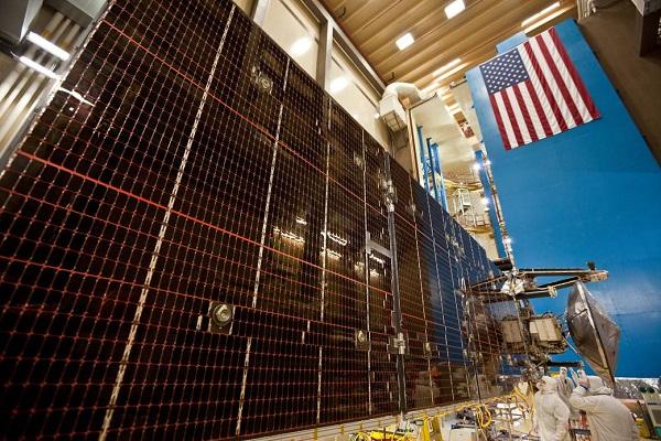 Juno's solar panels