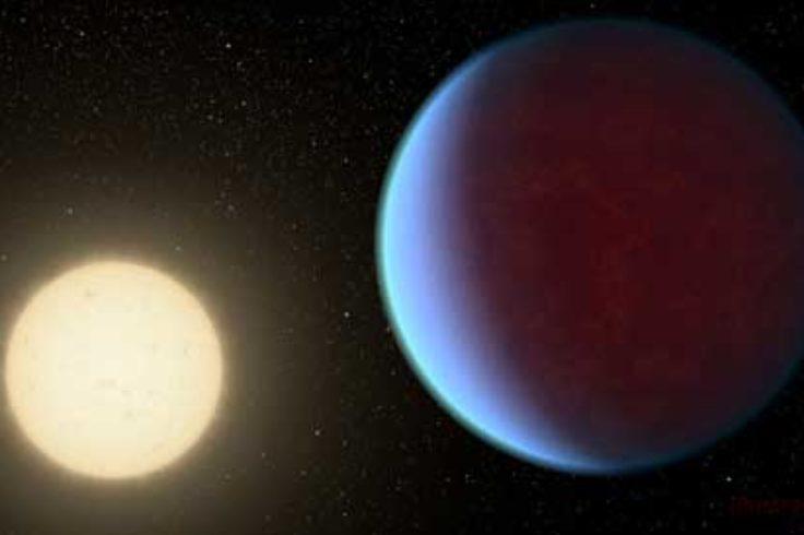 55 Cancri e, artist's concept