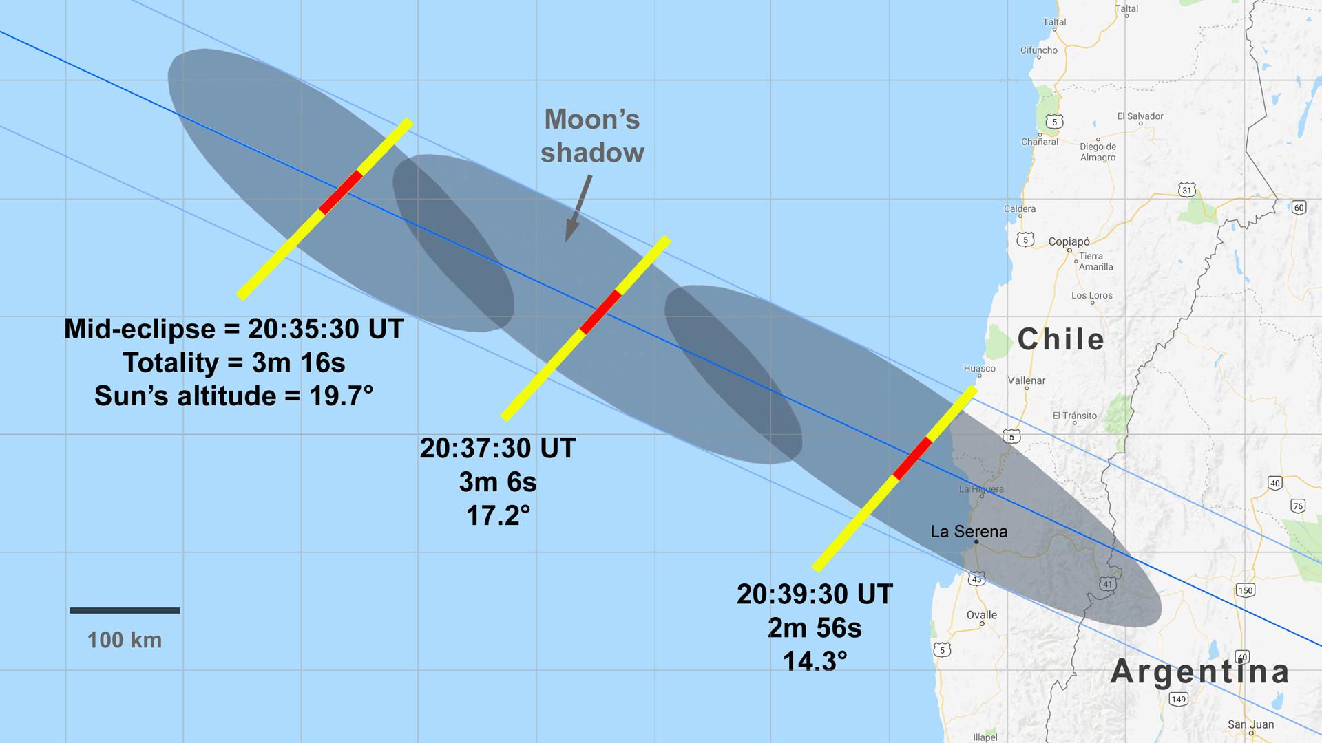 2019 eclipse air intercept map