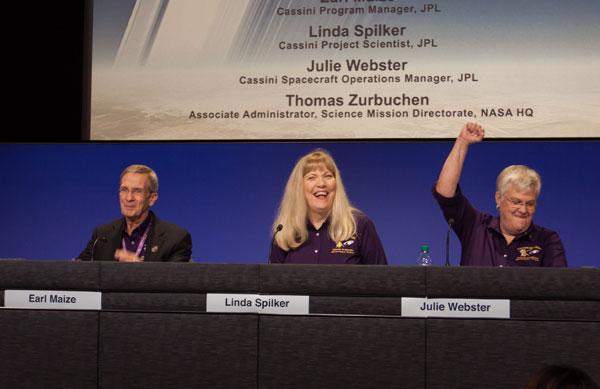 Celebrating Cassini's success