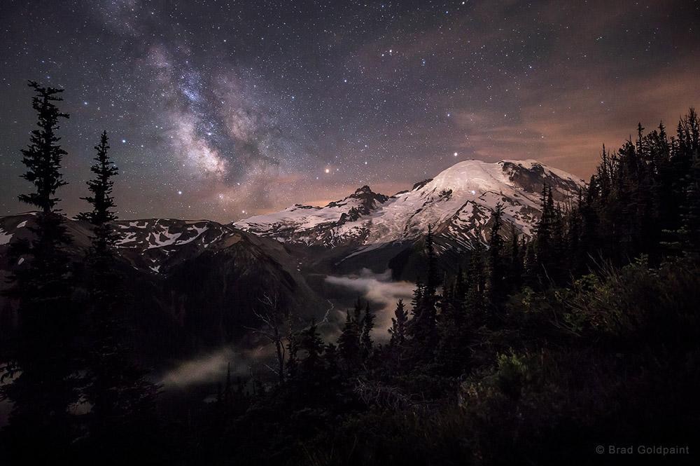 Moonlit Darklings by Brad Goldpaint