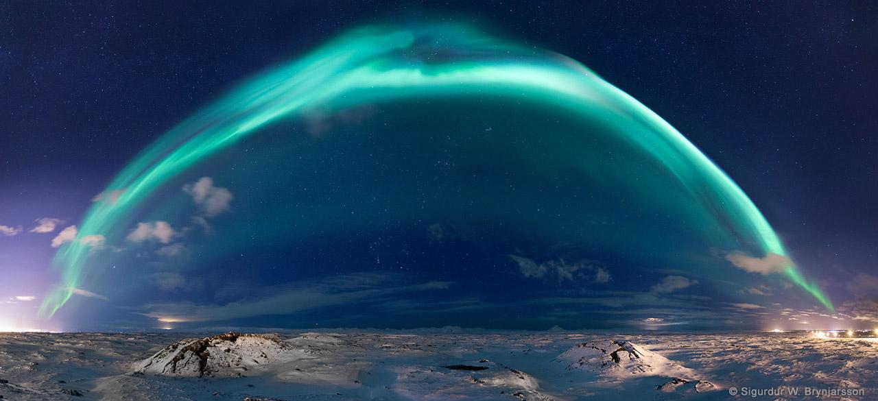 The Dome by Sigurdur William Brynjarsson