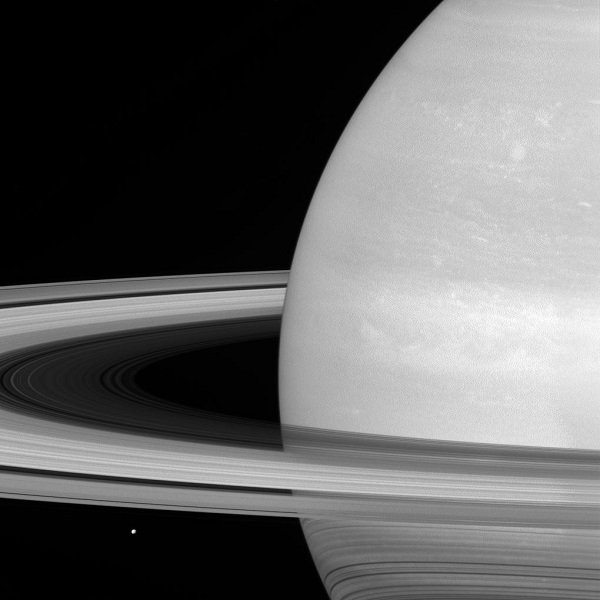 Saturn plus rings