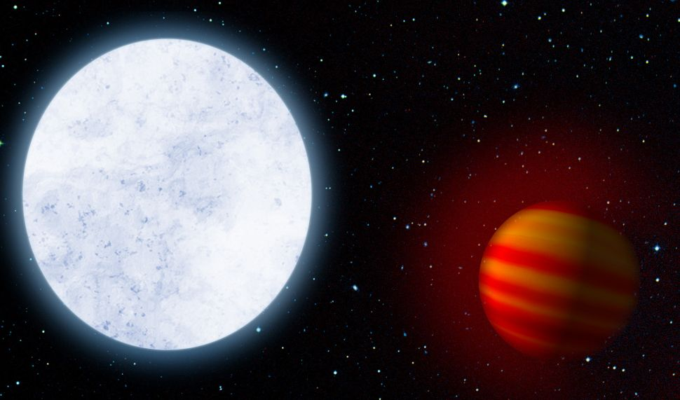 Photoevaporation from an exoplanet