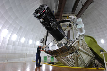3.9-meter Anglo-Australian Telescope at Siding Spring Observatory