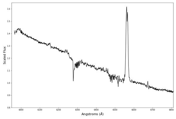 AAVSO spectrum