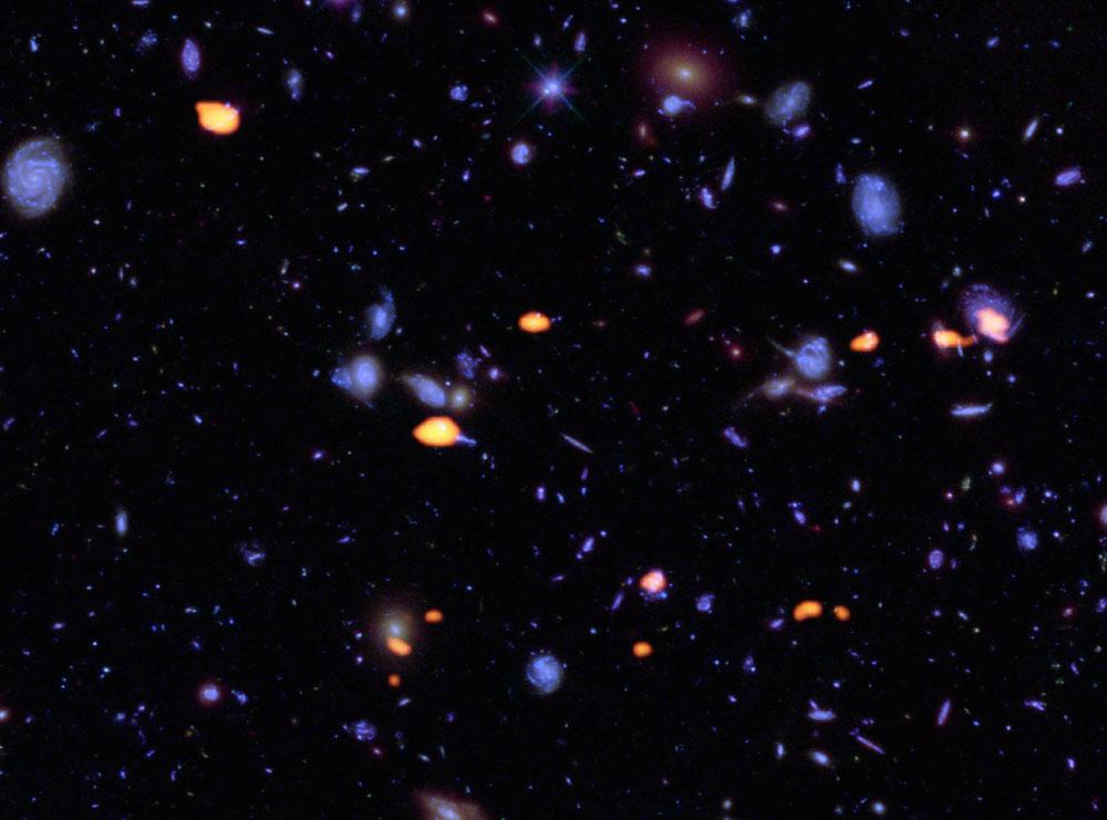 ALMA image of Hubble Ultra Deep Field