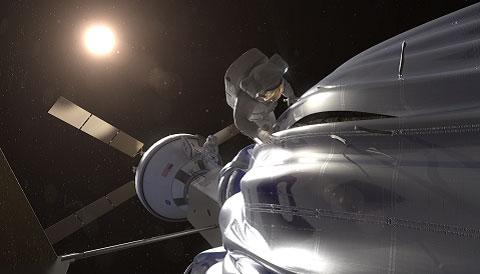 Asteroid redirect mission EVA