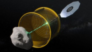 Asteroid retrieval mission, opion A