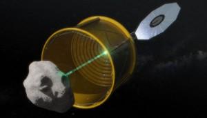 Asteroid retrieval mission, opion A