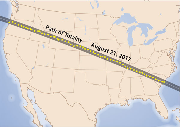 Path of Totality in August 2017