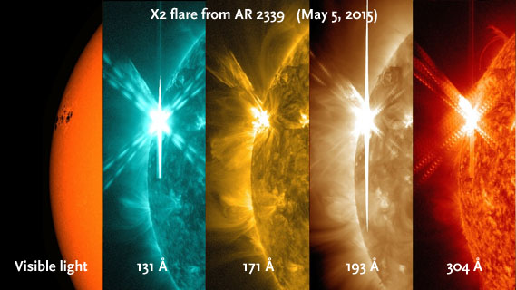 May 5th flare from AR 2339