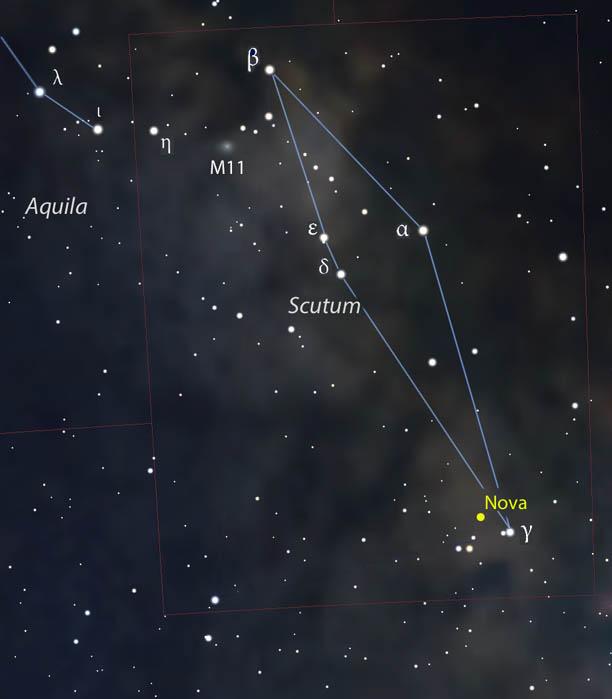 Nova in the Milky Way