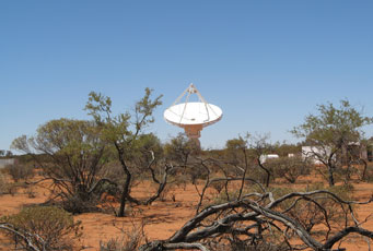 ASKAP first antenna