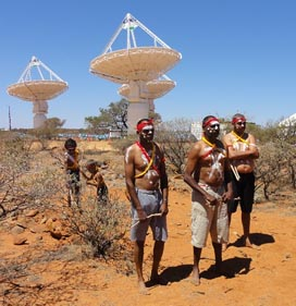 Dedication of the ASKAP radio array