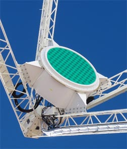 Phased-array feed on ASKAP telescope
