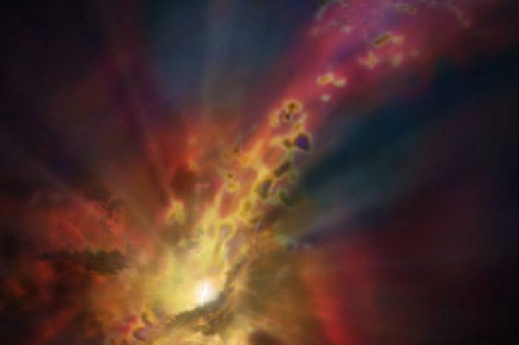 cosmic rain onto AGN