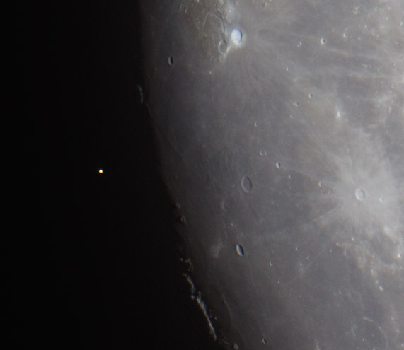 aldebaran occultation by Roger Hutchinson