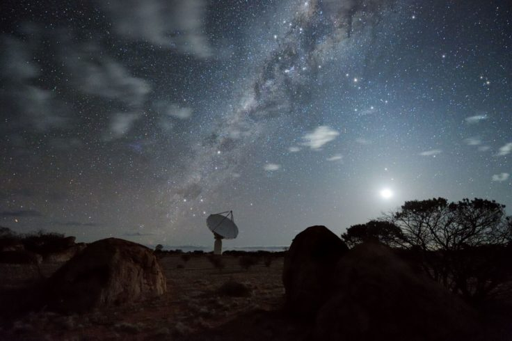The Milky Way from Australia