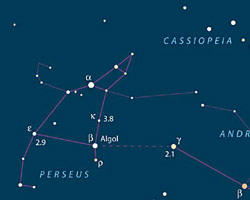 Algol Star Map
