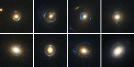 Einstein Ring Galaxies