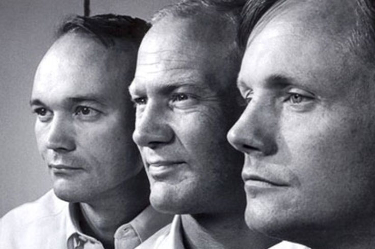 Armstrong, Aldrin & Collins