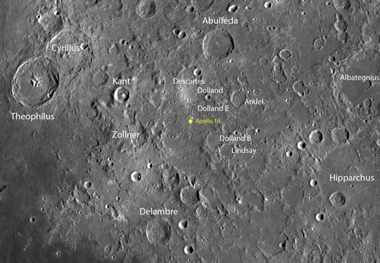 Apollo landing sites: In search of ancient rocks