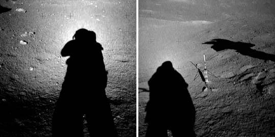 Astronauts wear halos