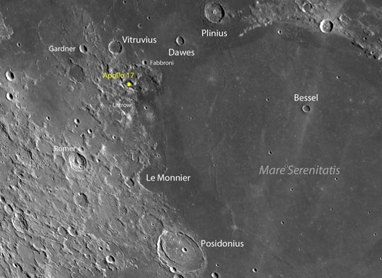 Apollo Landing Sites: Final Mission