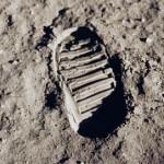 Apollo 11 footprint
