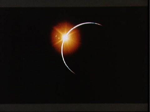Apollo 12 witnesses solar eclipse