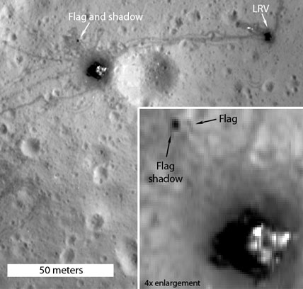 Apollo 16's landing site