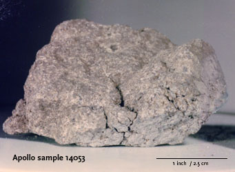 Apollo 14 rock 14053