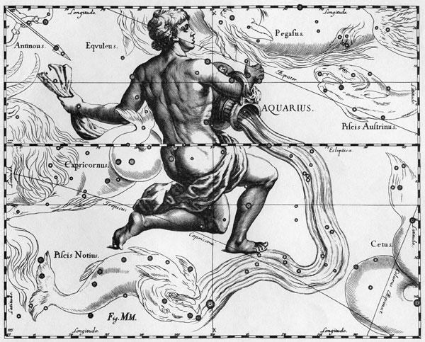 Johannes Hevelius's Aquarius