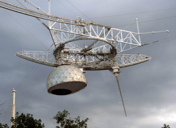 Arecibo antennas in 2009