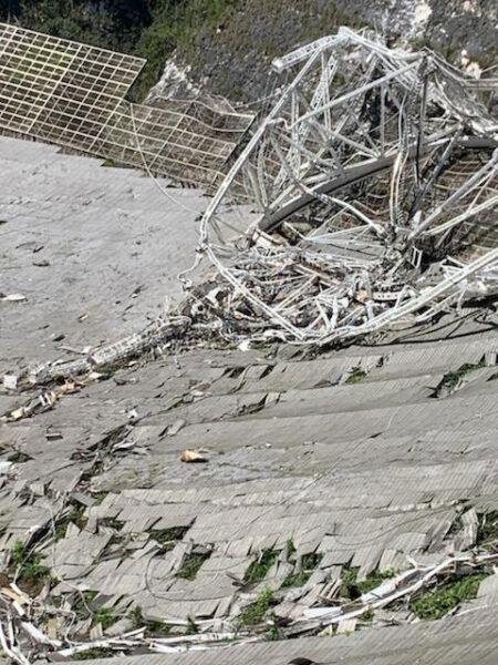 Arecibo damage
