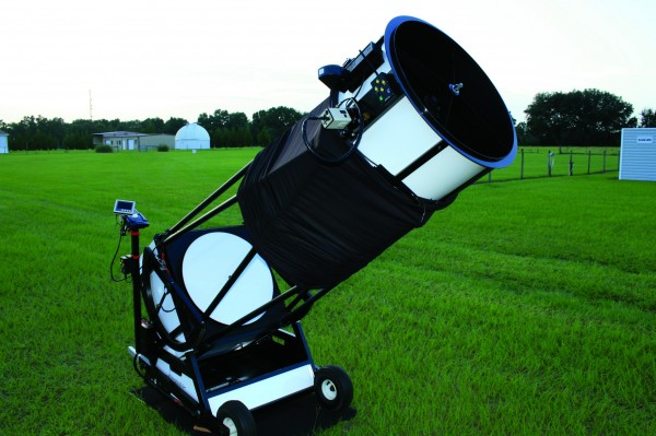 22-inch Starstructure Dobsonian, combined with a MallinCam Xtreme