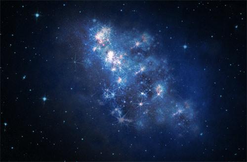 High-redshift galaxy
