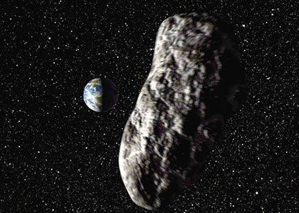 Asteroid 2018 CB Zips by Earth Friday: Watch it Online ...