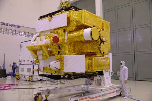 Astrosat in the clean room