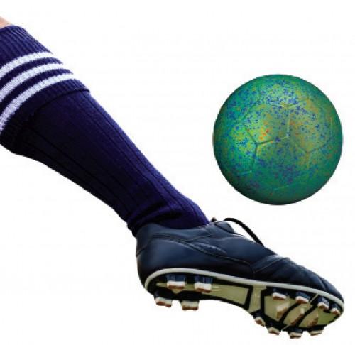 KICKER: SHUTTERSTOCK / TUNGPHOTO; BALL: NASA / WMAP SCIENCE TEAM